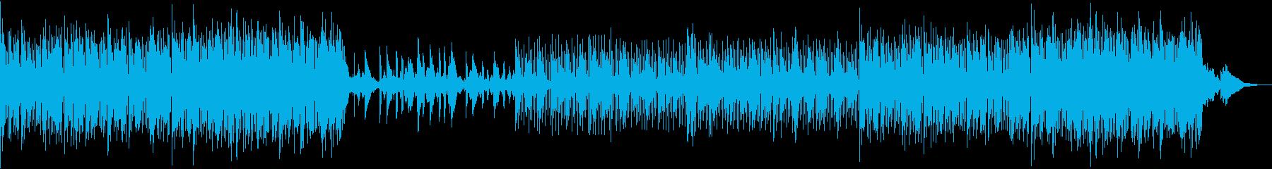 癒し ヒーリング 心地よい ボサノバの再生済みの波形