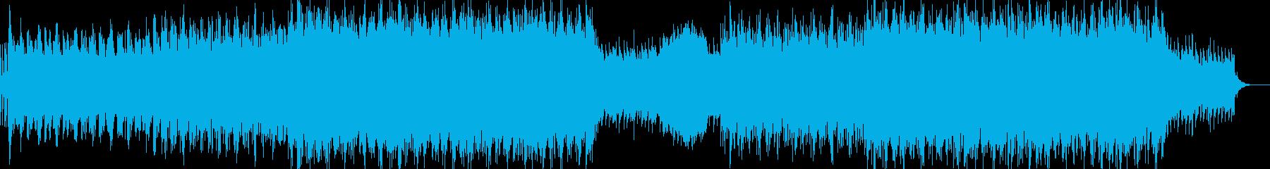 現代的で都会的なシンセミュージック-12の再生済みの波形