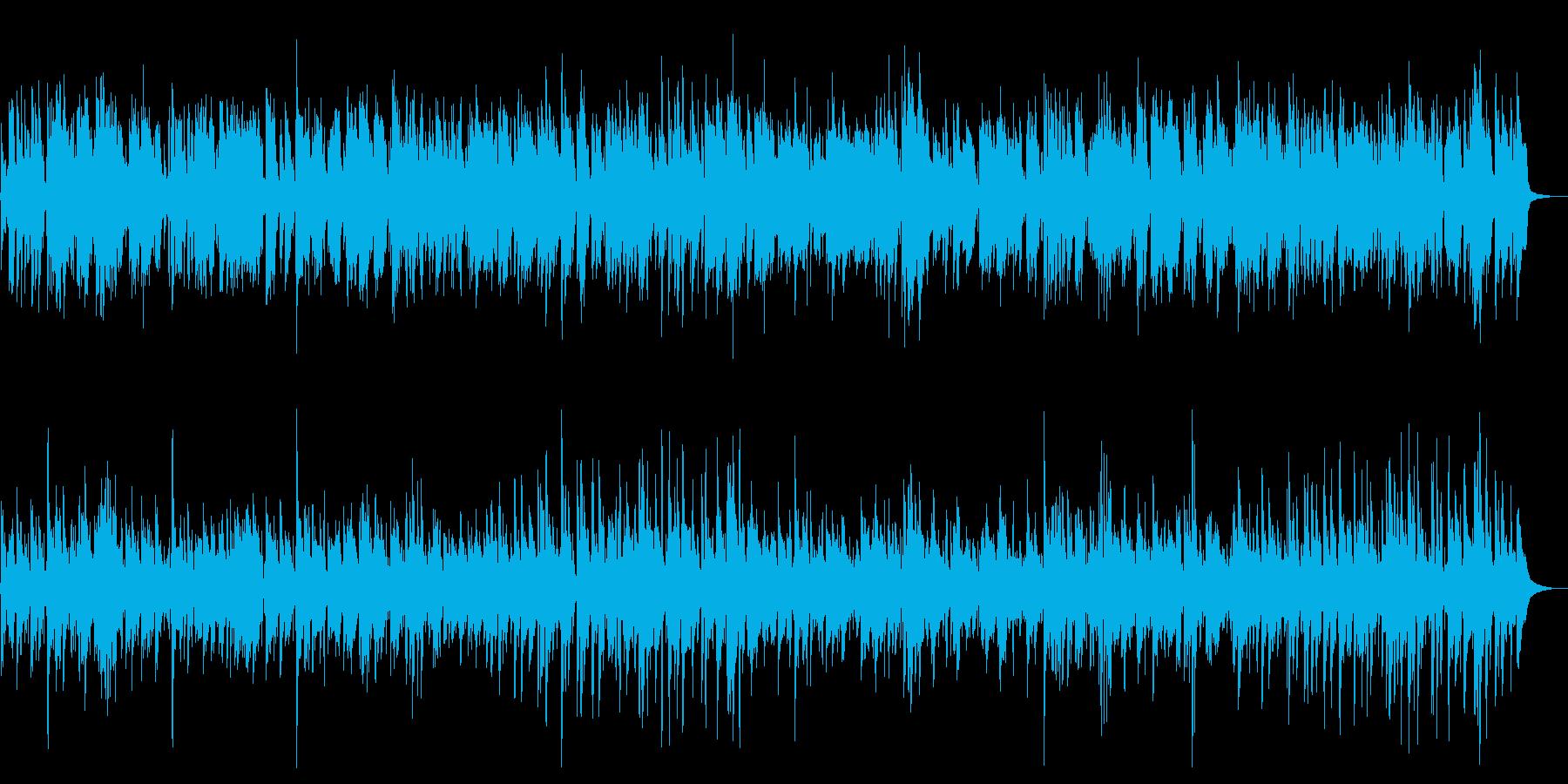 生トランペットのリラックスジャズ 哀愁感の再生済みの波形