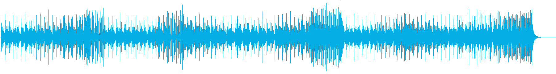 b激しめ勢いのある壮大な和風エピックの再生済みの波形
