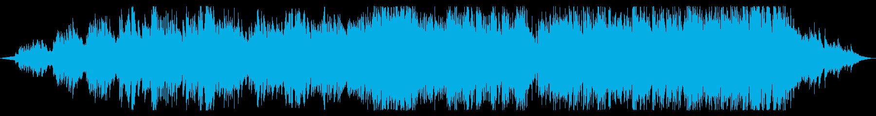 幻想的でエスニックな雰囲気の怪しいBGMの再生済みの波形