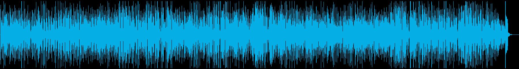 レトロジャズ、牧歌的なジプシースイングの再生済みの波形