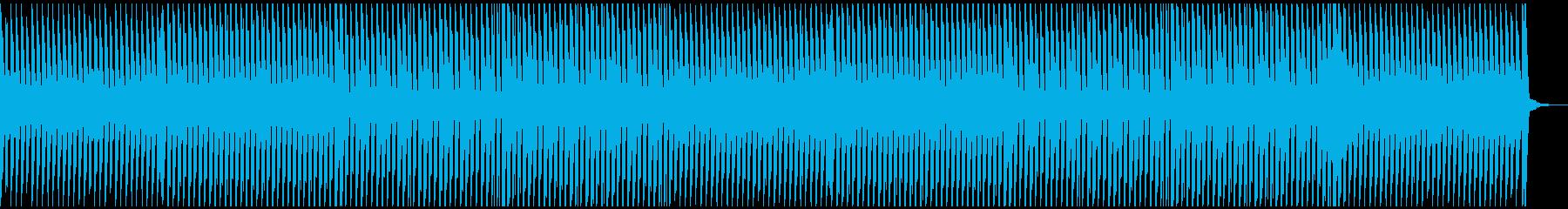 企業VP爽やかダンスビートの再生済みの波形