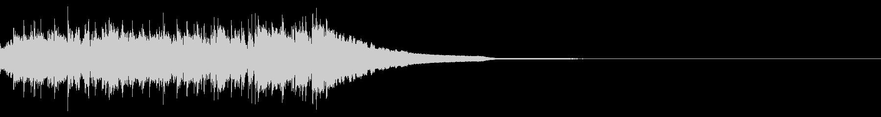 レベルアップ音 短めの未再生の波形