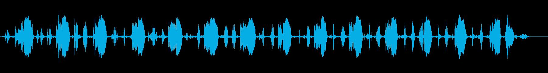 きしむ金属ホイールアクスル:中の再生済みの波形