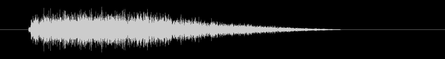 レーザー音-74-3の未再生の波形
