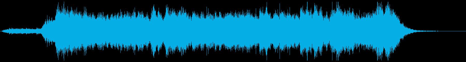 登場!期待高まるファンファーレ20秒の再生済みの波形
