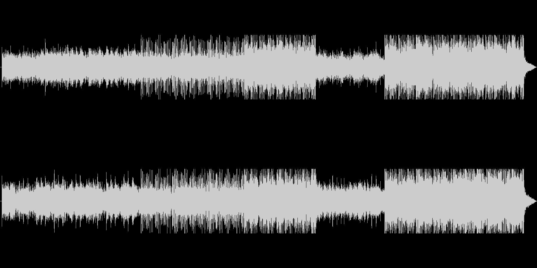 悲しみのエレクトロ2の未再生の波形
