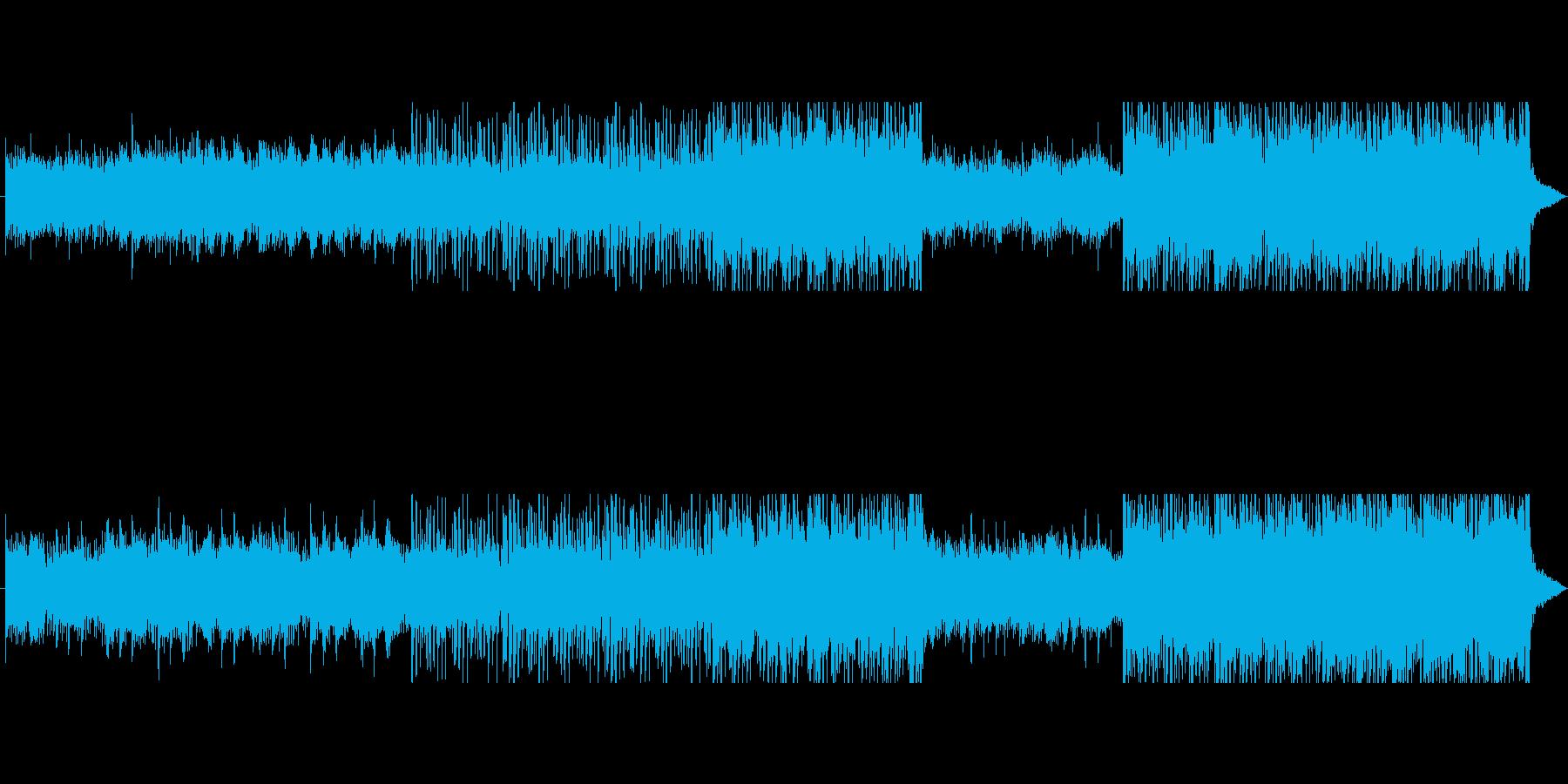 悲しみのエレクトロ2の再生済みの波形