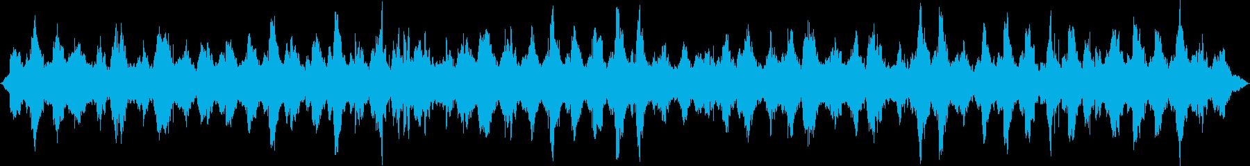 遅い有機進化。ホバリングの再生済みの波形