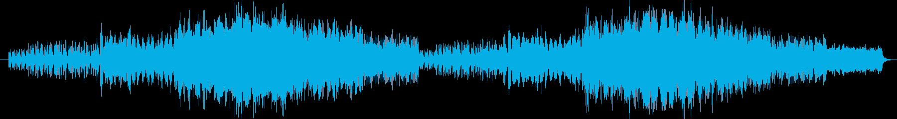 幻想的で癒されるメロディーの再生済みの波形