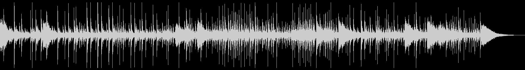 ドラム:ドラムソロの未再生の波形