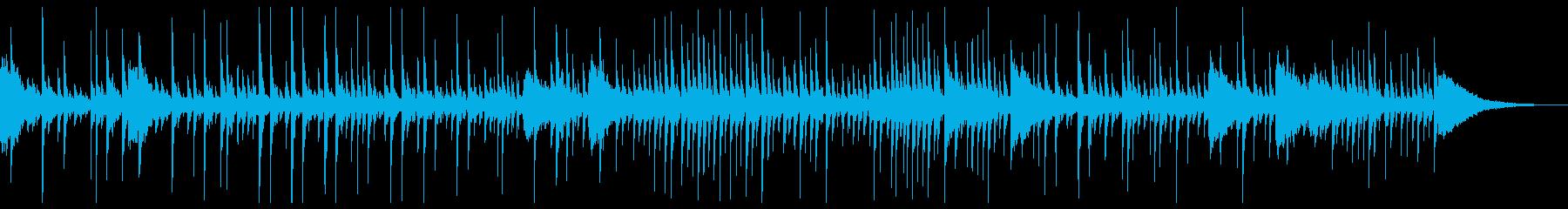 ドラム:ドラムソロの再生済みの波形