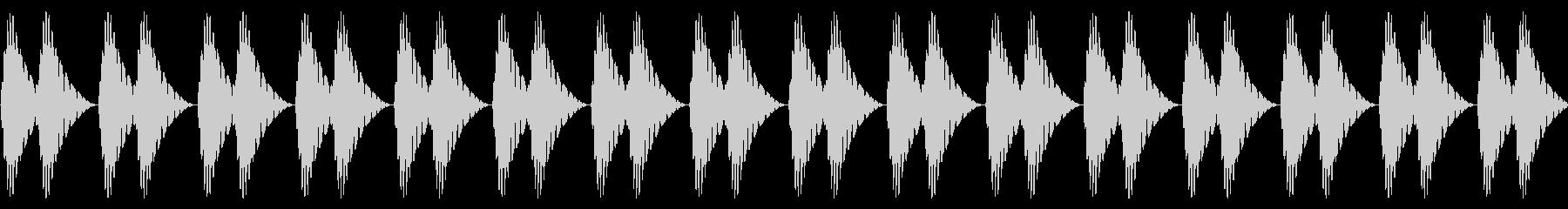 ドクドク!(心音/脈拍200/頻脈)の未再生の波形