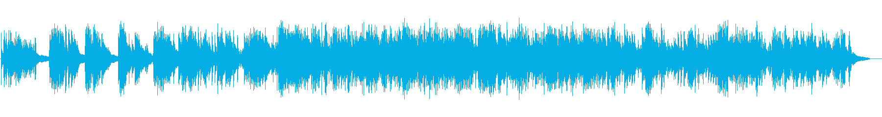 ほのぼの、しんみりなピアノソロの再生済みの波形