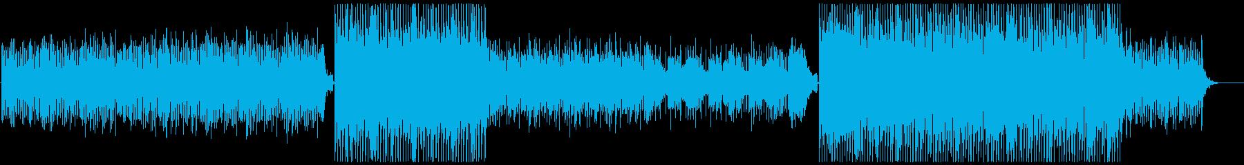 エレクトロ-PV-ハウス-穏やか-クールの再生済みの波形