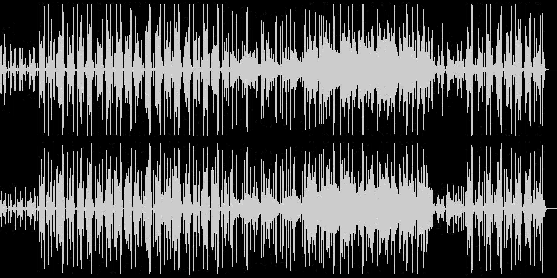 コロコロしたミニマル。何気ないBGMにの未再生の波形