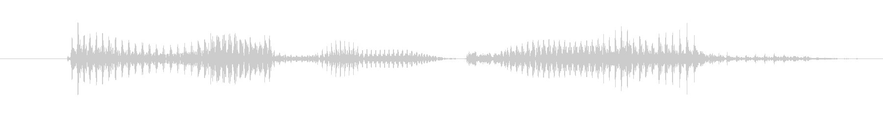 「11 PM」英語発音の未再生の波形
