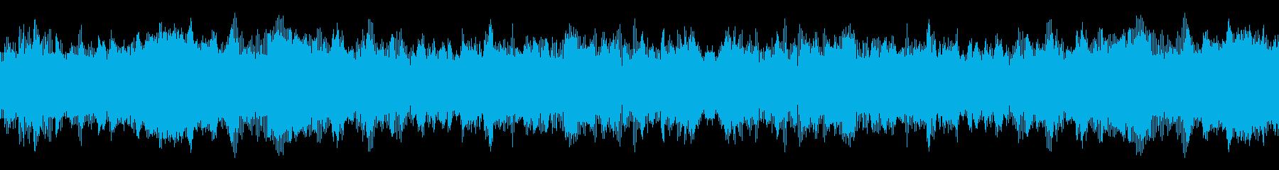 モンクボイスローチャンティングの再生済みの波形