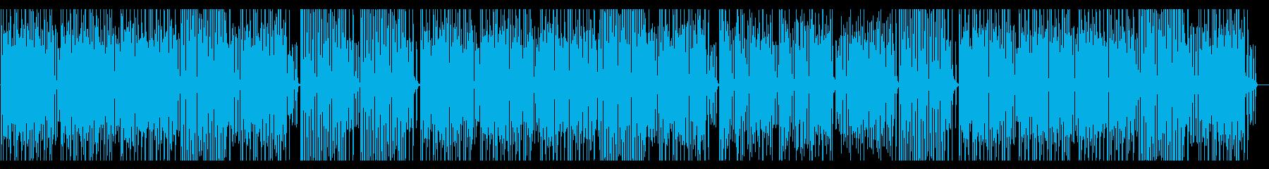 陽気で軽快なピアノソロ/楽しいラグタイムの再生済みの波形