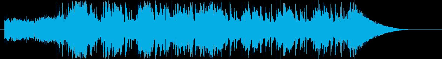 ジングル:サックスの旋律がカッコイイ曲の再生済みの波形