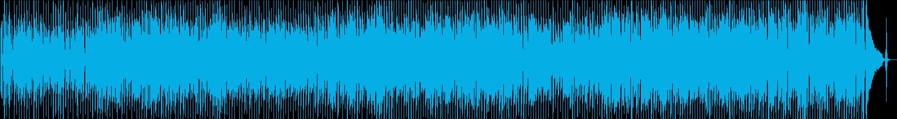 積極的なギター駆動のインストゥルメ...の再生済みの波形
