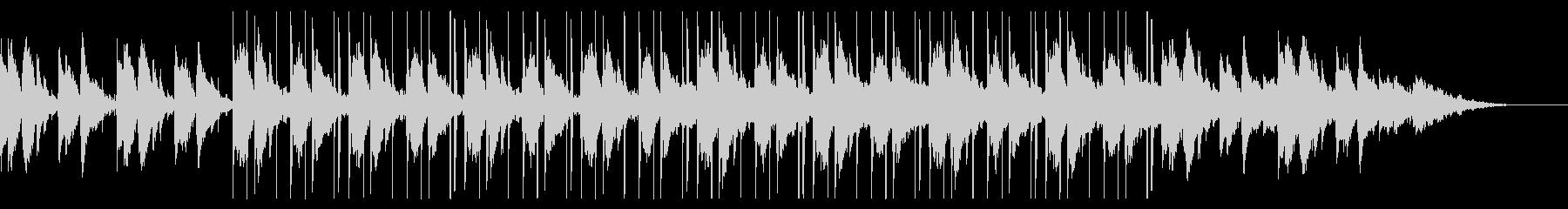 静かなギターのチル・ヒップホップの未再生の波形
