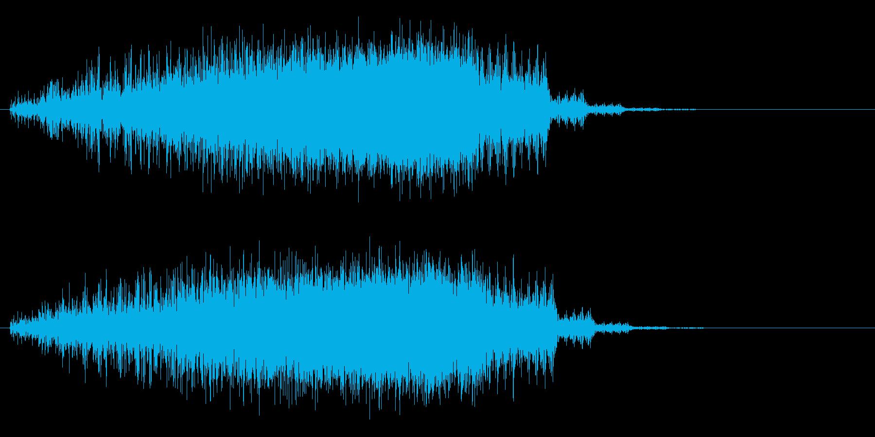 スピード・パワーアップ↑・エネルギー充填の再生済みの波形