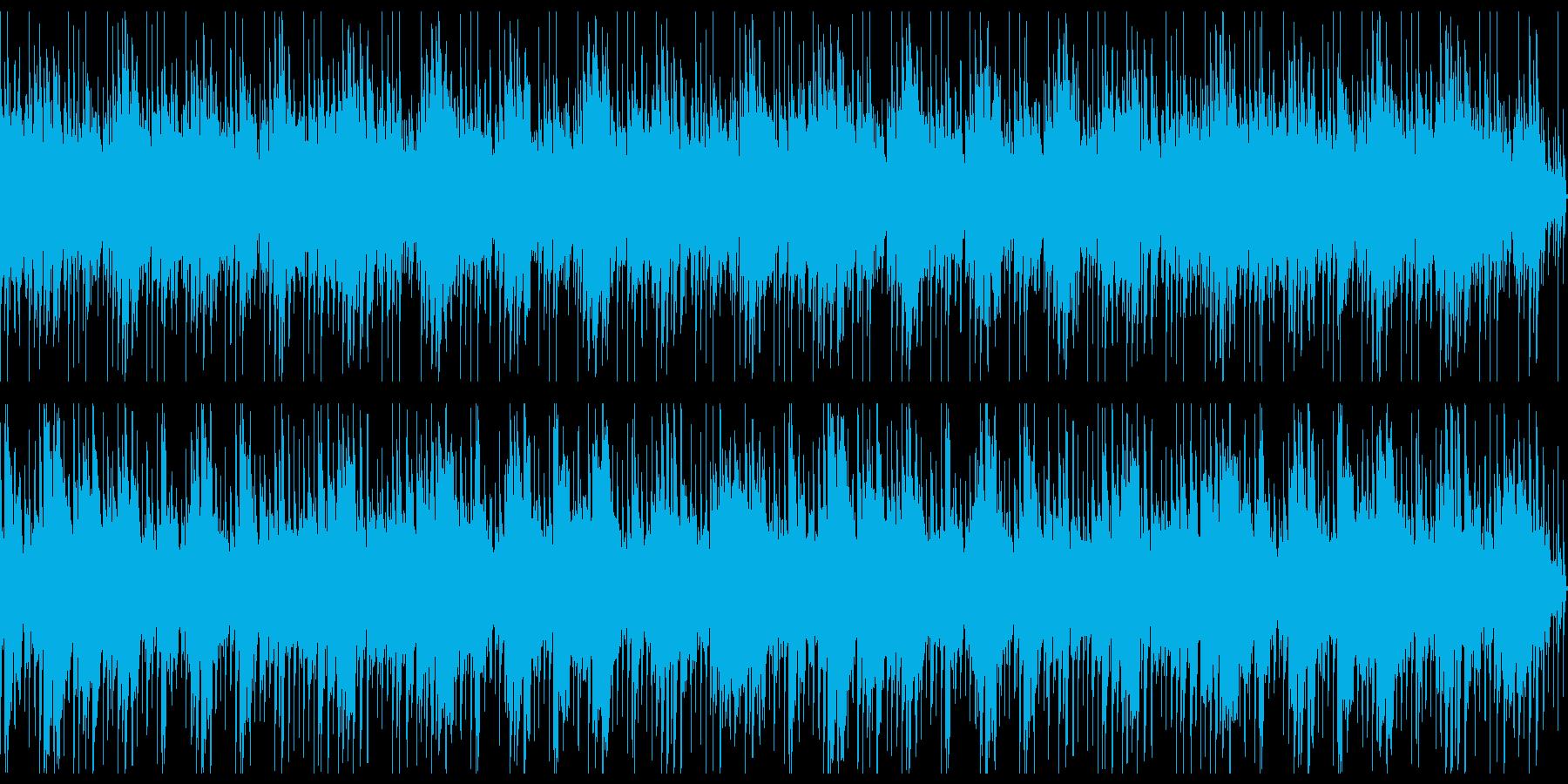 【ループ】古筝を用いた中国伝統風なBGMの再生済みの波形