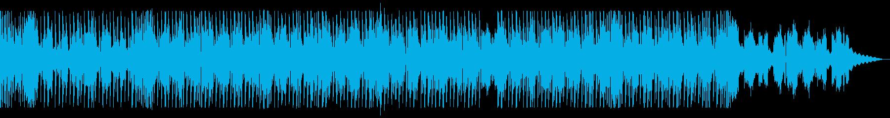 明るいかわいいテクノポップの再生済みの波形
