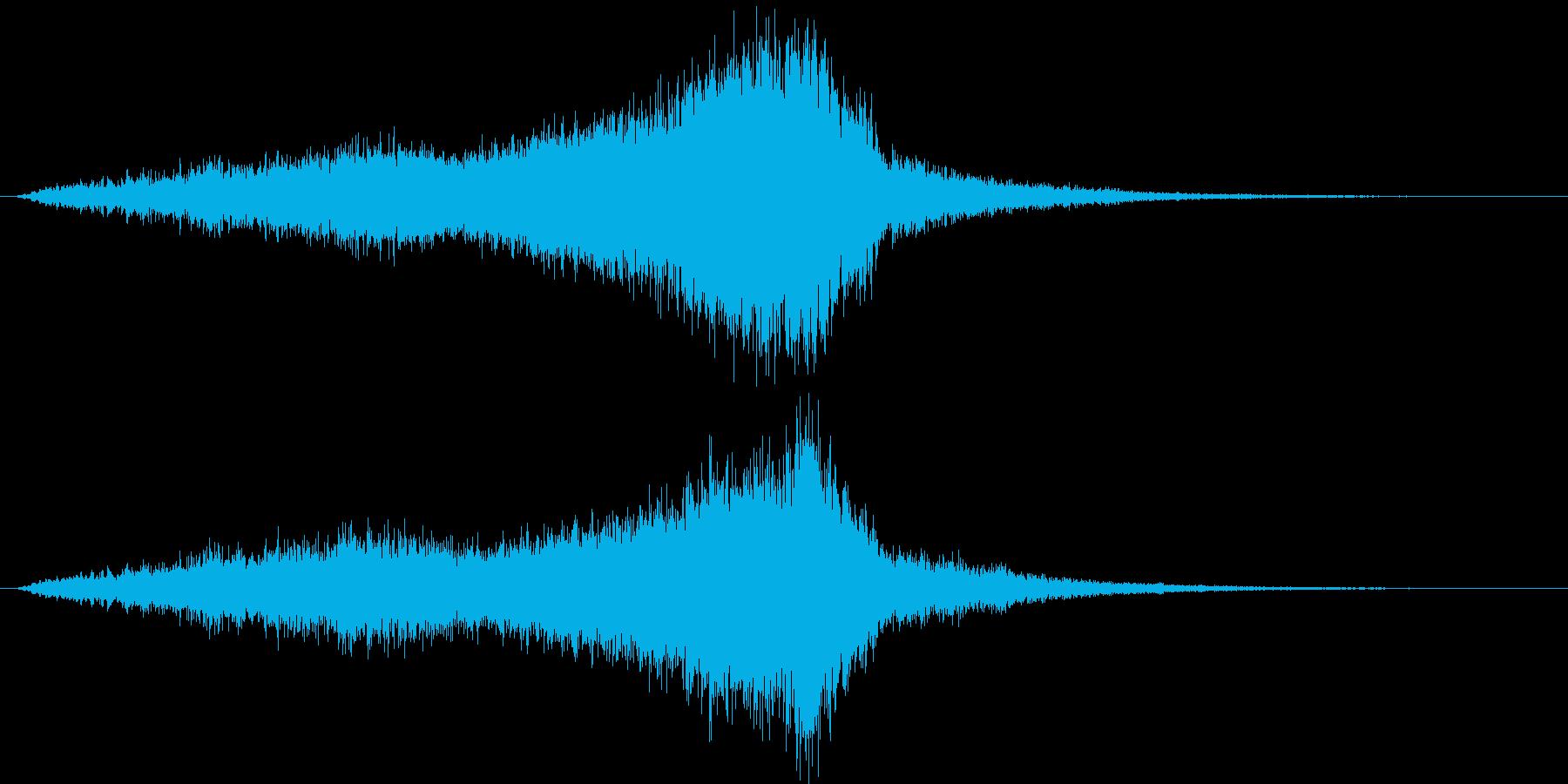 ホラーやサスペンスで使える効果音 2の再生済みの波形