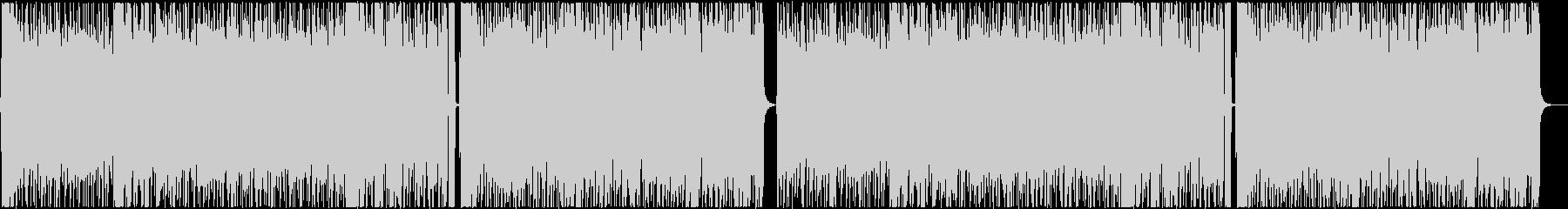 爽やかなアコギ主体のBGMの未再生の波形