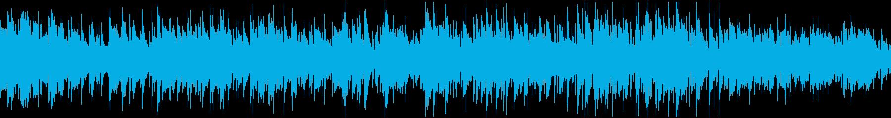 ソプラノサックスのボサノバ ※ループ版の再生済みの波形