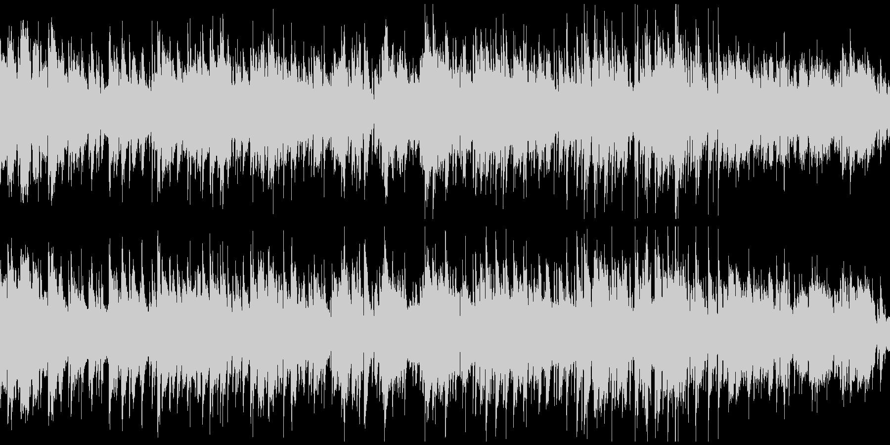 ソプラノサックスのボサノバ ※ループ版の未再生の波形