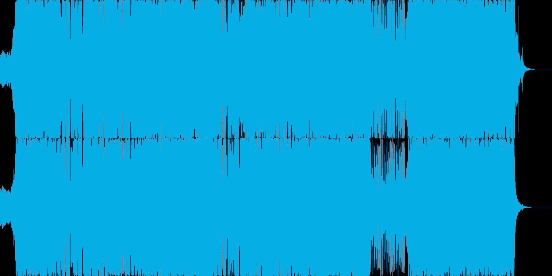女性ボーカルのEDMウェディングソングの再生済みの波形