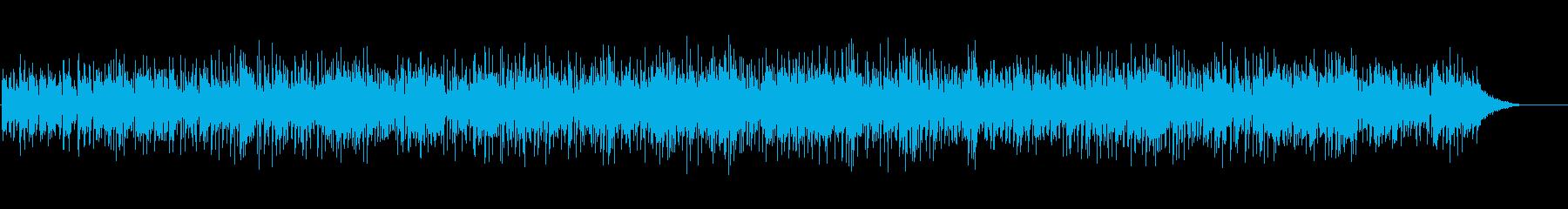 シリアスなスムースジャズの再生済みの波形