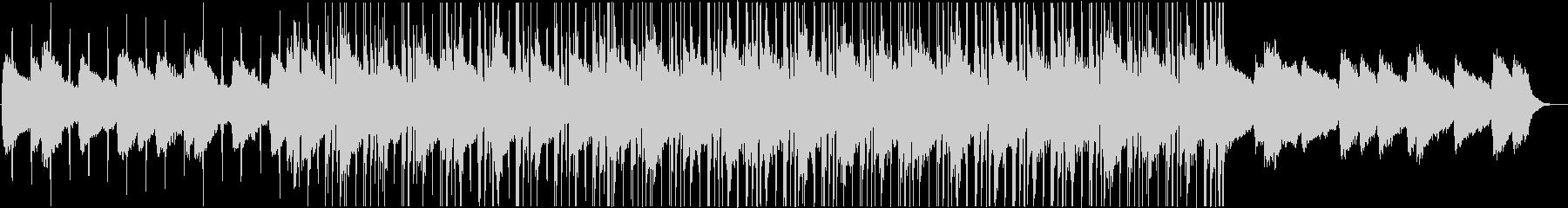 おしゃれなチル風ヒップホップBGMの未再生の波形