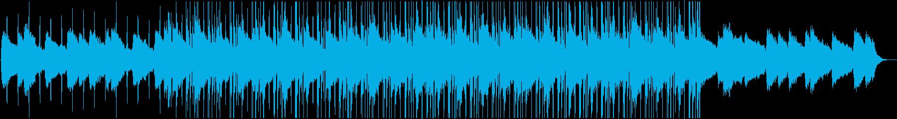 おしゃれなチル風ヒップホップBGMの再生済みの波形