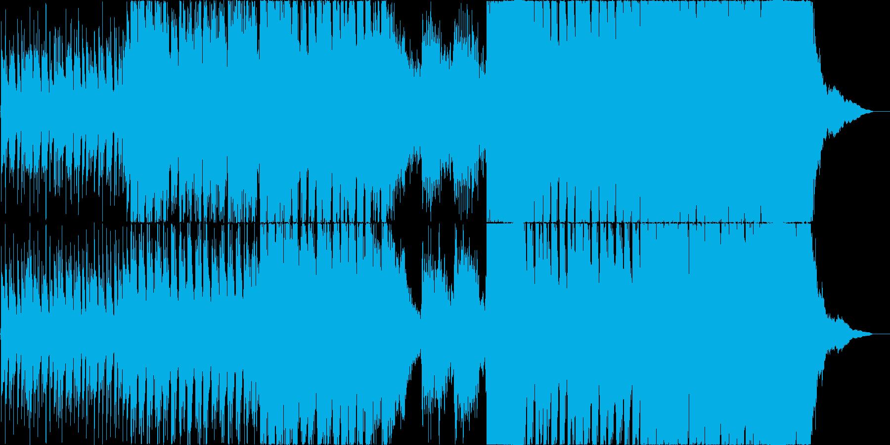 尺八を取り入れたオーケストラの再生済みの波形