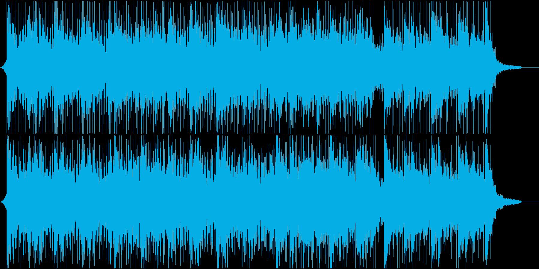 企業VPや映像に 爽やか疾走感_Med1の再生済みの波形