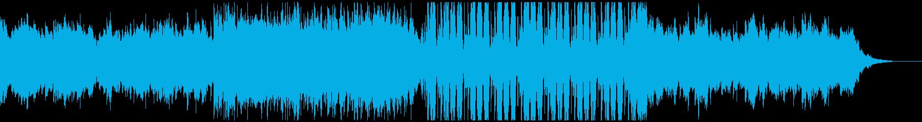 FuturePop3、お洒落、洋楽、夏Hの再生済みの波形