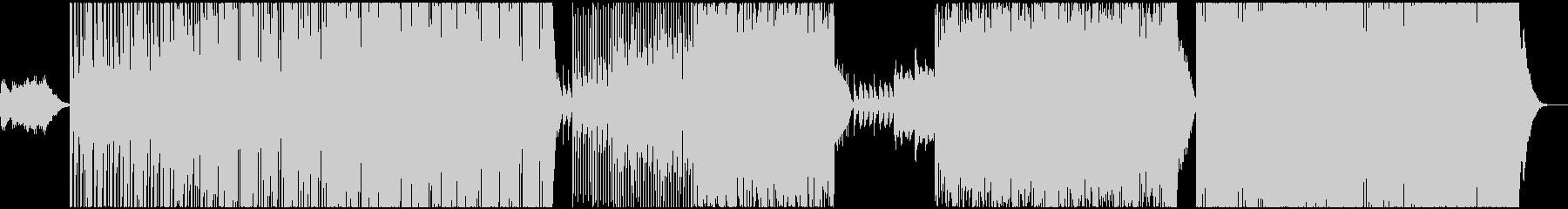 躍動感のあるアラビックエレクトロの未再生の波形