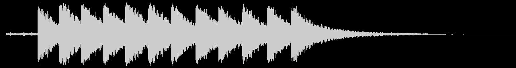 クロック5、bozak、1823、...の未再生の波形