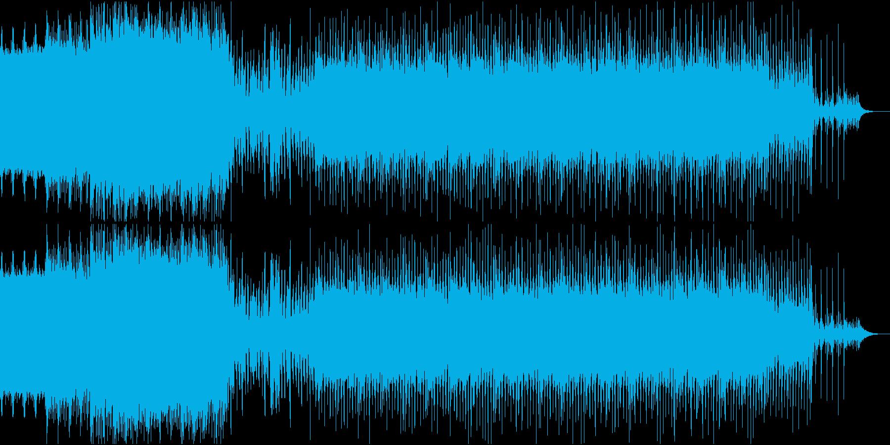 ディスコ風EDMの再生済みの波形