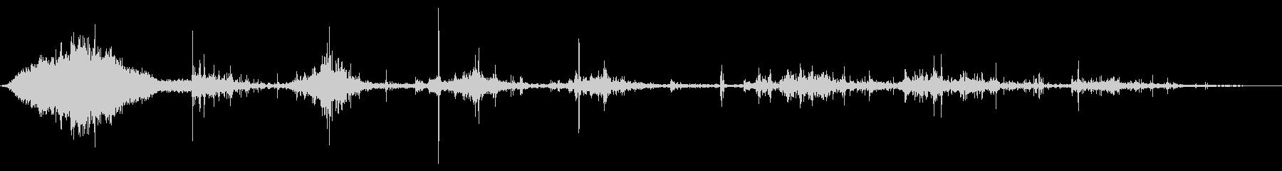 アルミニウムカヌー:シングルパドラ...の未再生の波形