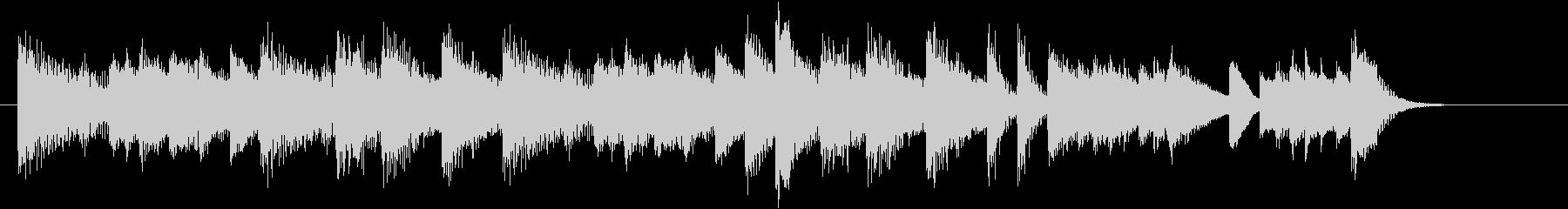 お正月・春の海モチーフのピアノジングルFの未再生の波形