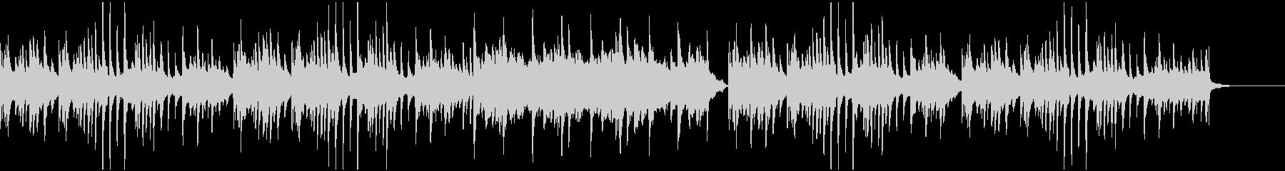 感動的な雰囲気のピアノ曲の未再生の波形