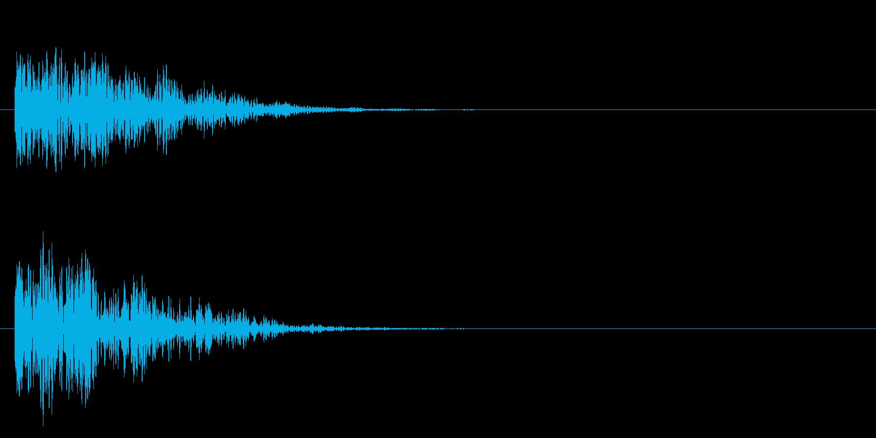 ヘビーディープウッドインパクトの再生済みの波形