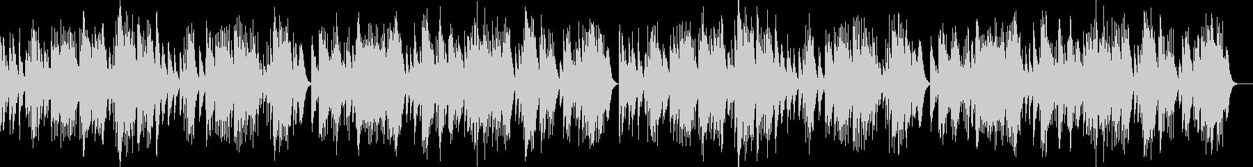 バッハ 「G線上のアリア」オルゴール の未再生の波形