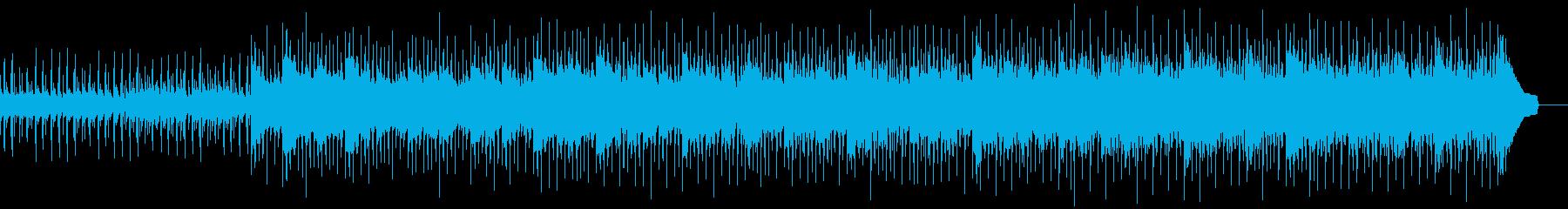 活気のあるドラムとハンドクラップに...の再生済みの波形